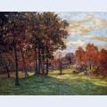 Autumn landscape at goulazon