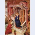 The annunciation from altar of philip the bold