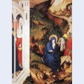 The flight into egypt from altar of philip the bold
