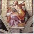 Sistine chapel ceiling libyan sibyl