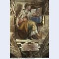 Sistine chapel ceiling sibyl erithraea 1512