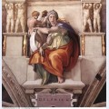 Sistine chapel ceiling the delphic sibyl 1509