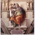 Sistine chapel ceiling the delphic sibyl 1509