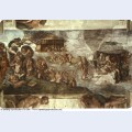 Sistine chapel ceiling the flood 1512 1