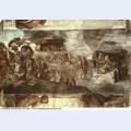 Sistine chapel ceiling the flood 1512 1