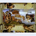 Sistine chapel ceiling the flood 1512