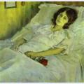 A sick girl
