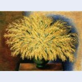 Grand bouquet of mimosa