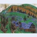 Landscape in transylvania