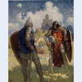 I am sir launcelot du lake king ban s son of benwick and knight of the round table
