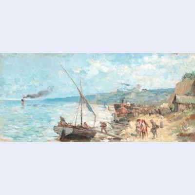 Departure towards the open sea