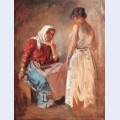Gipsy women talking