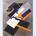 Non objective composition suprematism