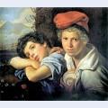 Neapolitan boys fishermen
