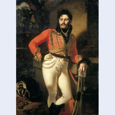 Portrait of colonel evgraf v davydov