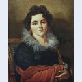 Portrait of darya nikolaevna chvostova