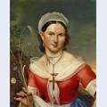 Portrait of ekaterina aleksandrovna telesheva