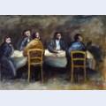 Cinque uomini al tavolo