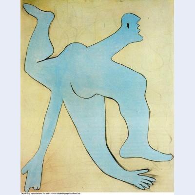 A blue acrobat 1929