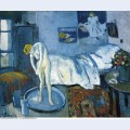 A blue room a tub 1901