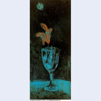 A blue vase 1903