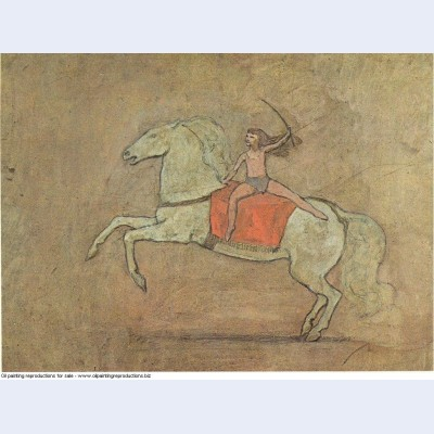 A horsewoman 1905