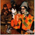 At lapin agile harlequin with glass 1905