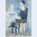Boy with a dog 1905