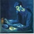 Breakfast of a blind man 1903