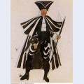 Costume design for ballet tricorne 1917 1