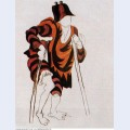 Costume design for ballet tricorne 1917