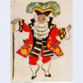 Costume design for ballet tricorne 1917 5