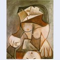 Crouching female nude 1959