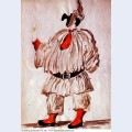 Design of costume for pulcinella 1920 1