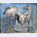 Faun horse and bird 1936