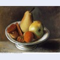 Fruit bowl with fruit 1918