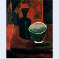 Green pan and black bottle 1908