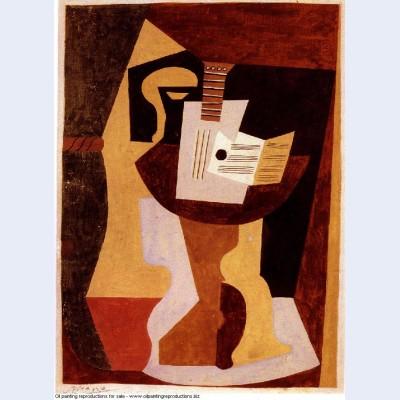 Guitar on pedestal 1920 1