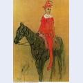 Harlequin on the horseback 1905