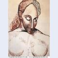 Head of woman