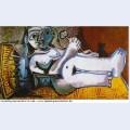Lying female nude 1964 1