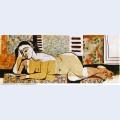 Lying naked woman 1955 1