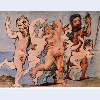 Silenus dancing in company 1933