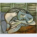Sleeper near the shutters 1936