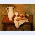 Still life with jug and bread 1921
