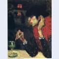 The absinthe drinker 1901 1