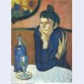 The absinthe drinker 1901