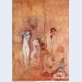 The harem 1906