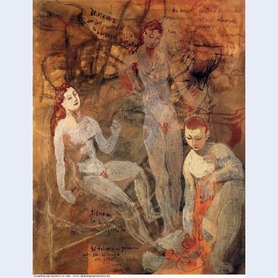 Three nudes 1906