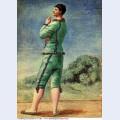 Acrobate en vert 1922
